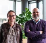 David Daya & Grethe Højlund. Foto: Tim Sobe