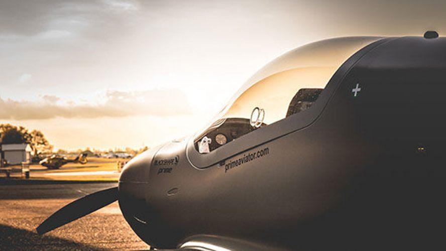 Ett propellerplan.