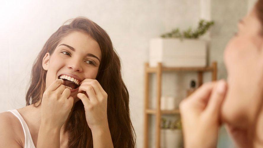 hammasvälien hoitaminen