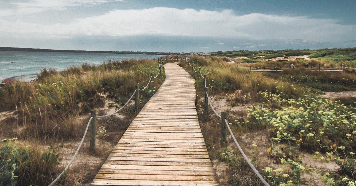 Landschap van Formentera
