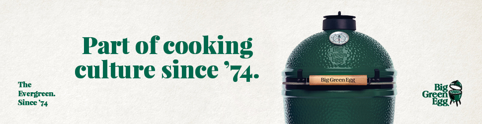 Advertentie Big Green Egg