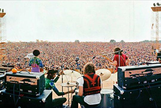 Sfeerbeeld van Woodstock