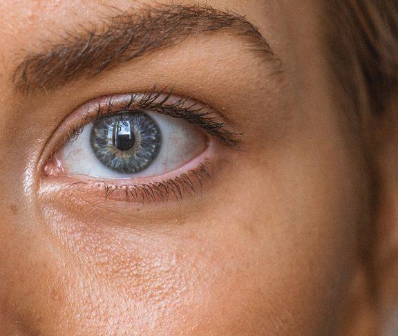 Close-upfoto huid