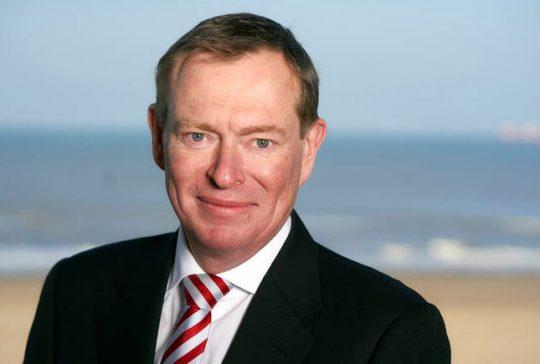 Portret minister Bruno Bruins