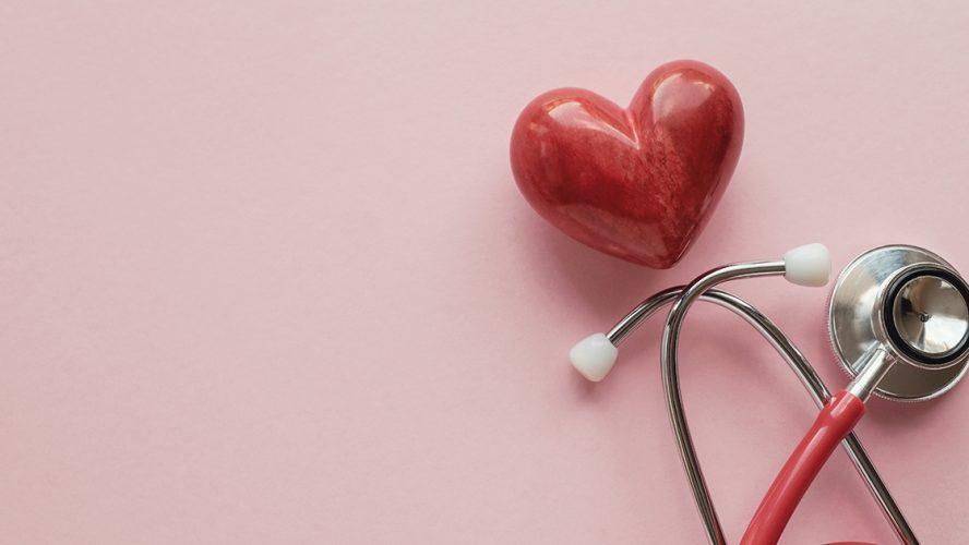 Hart en stethoscoop