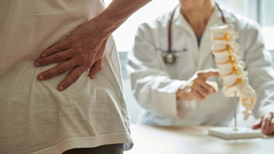 Patient with backpain