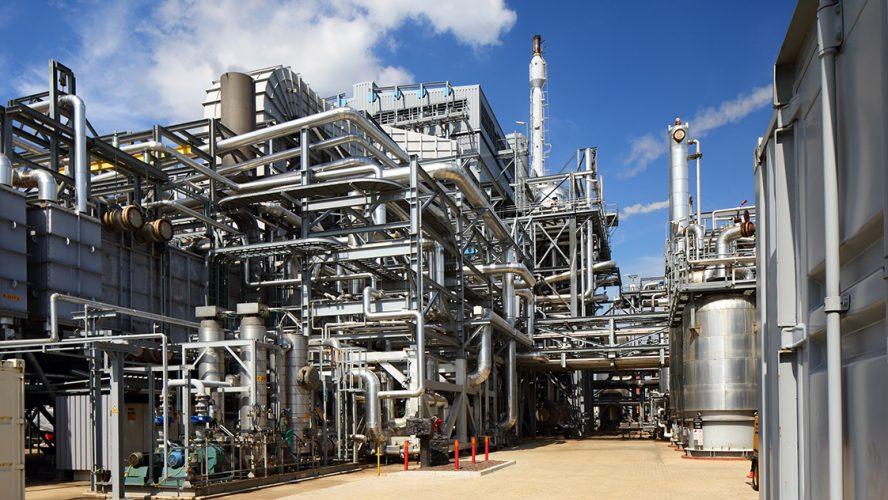 Industriële installatie