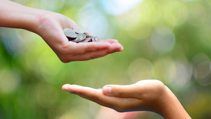 Geld doneren