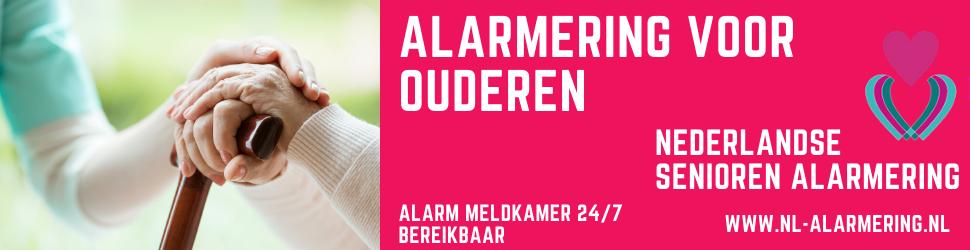 Advertentie Nederlandse Senioren Alarmering